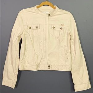 Calvin Klein I Cream Light Jacket Size Large